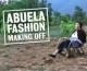 Fabes are sexy, la agüela asturiana emula a las top models