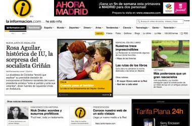 Nace Lainformacion.com, el diario online más completo
