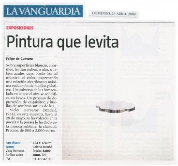 Crítica de La Vanguardia sobre Vicky Herreros