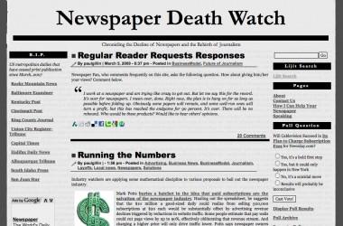 El 95% de los periódicos locales norteamericanos morirán