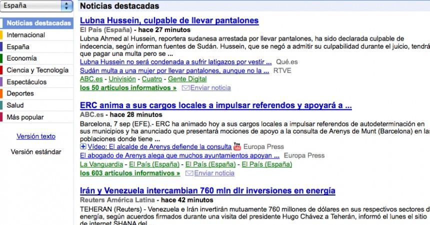 La hipocresía de El País contra Google News
