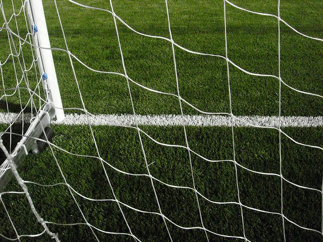 Foto de una portería de fútbol, por Héctor Milla http://www.flickr.com/photos/hectormilla/