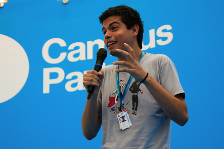 Pau García-Milà (Foto: Campus Party)