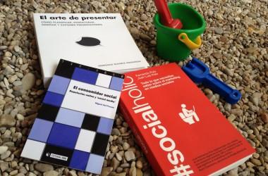 Tres libros de comunicación y marketing 2.0 para este verano