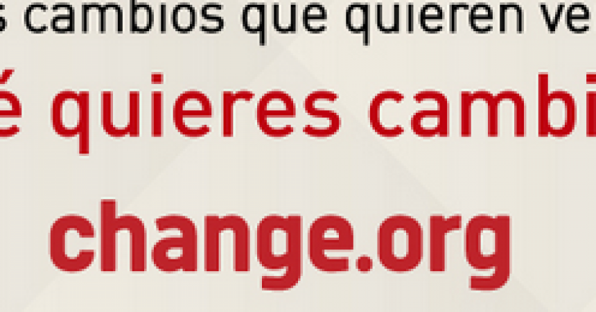 Change.org alcanza los 40 millones de usuarios