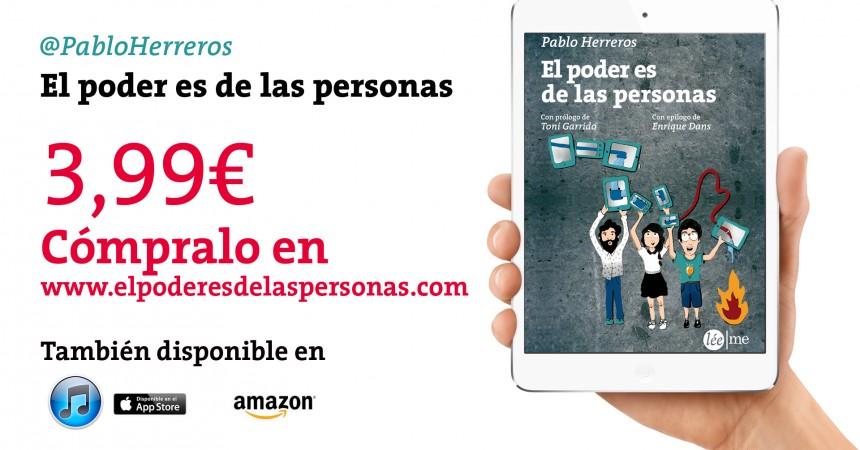 #ElPoderEsDeLasPersonas: Cómprate este ebook, por mi madre