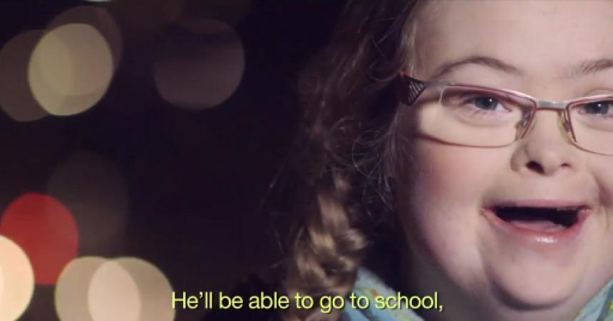 15 niños con síndrome de Down nos hacen un regalo