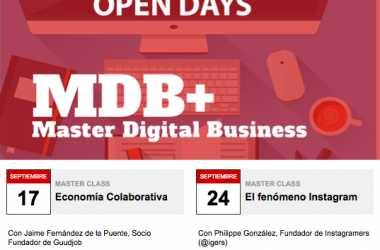 Dos clases gratis de economía colaborativa e Instagram