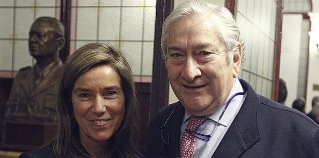 Ana Mato y Javier Rodríguez (Foto: EFE)