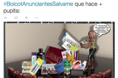 #ApagonSalvame y #BoicotAnunciantesSalvame: mucho pío y pocas nueces