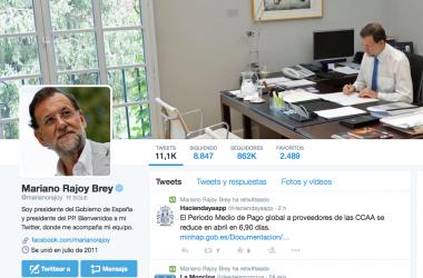 Rajoy e Iglesias: movimiento extraños para ver quién la tiene más larga (la lista de seguidores)
