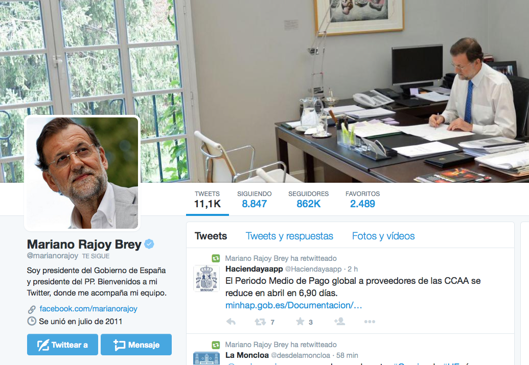 TwitterMarianoRajoy