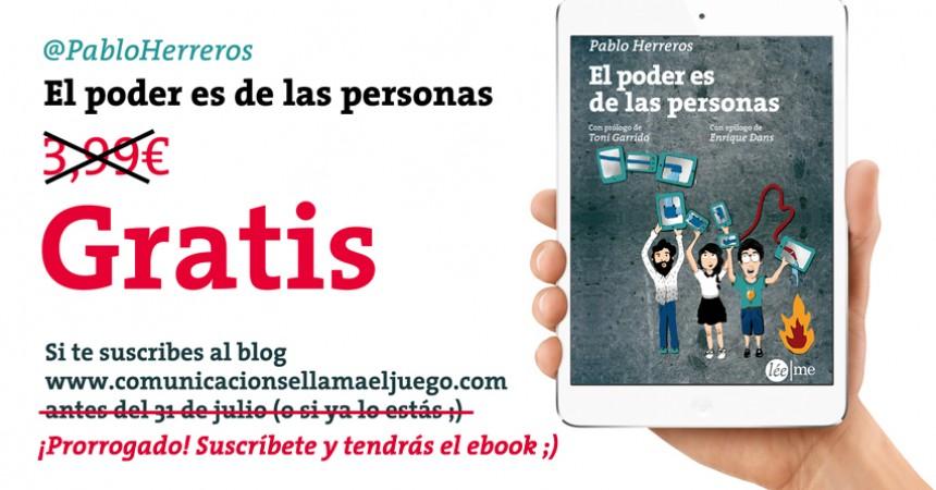 #ElPoderEsDeLasPersonas: te regalo mi libro en ebook