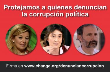 Protejamos a quienes se la juegan por denunciar la corrupción política
