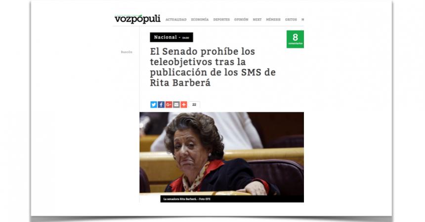 En vez de preocuparse de los corruptos, el Senado quiere matar al mensajero