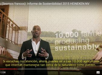 Heineken te canta sus logros medioambientales en un rap