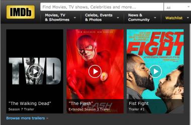 La petición de estrellas de cine a IMDB: marchando una de efecto Streisand para la edad de los famosos