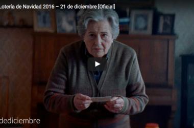 Se te saltarán las lágrimas con el anuncio de Lotería de Navidad 2016