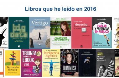 Libros que he leído en 2016
