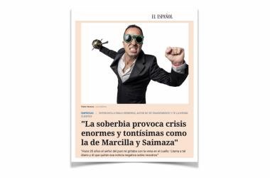 «La soberbia provoca crisis enormes y tontísimas como la de Marcilla y Saimaza»: entrevista en El Español