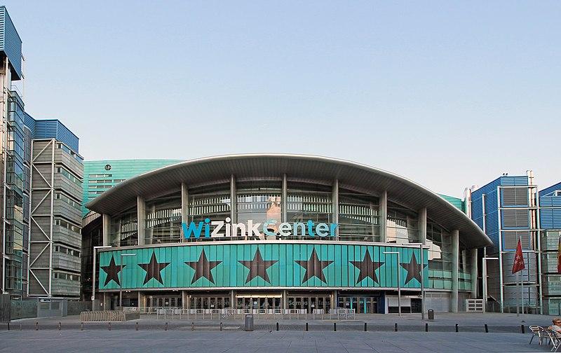 Vista desde la fachada Oeste del Wizink Center Madrid (Foto de Luis García)